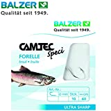Balzer Camtec Forelle 60cm - 10 gebundene Angelhaken zum Forellenangeln, Haken zum Angeln auf...