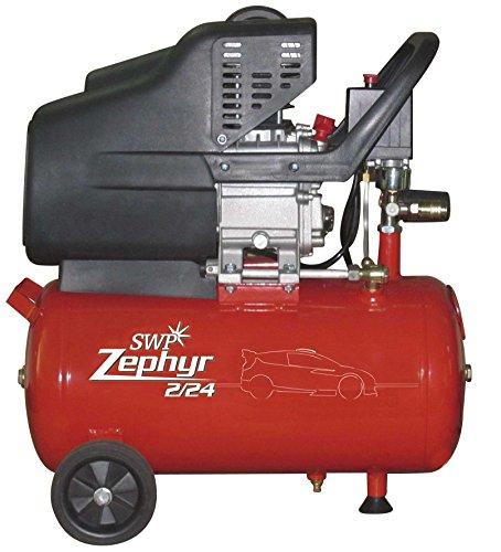 SWP Zephyr ZC224 Kompressor 24l, 2,0 PS, 24 l, 230 V, ideal für leichte Arbeiten