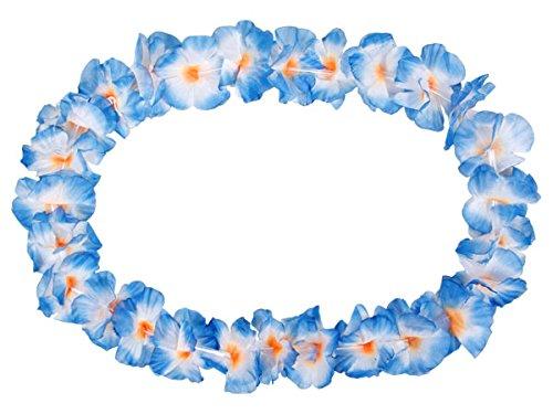 Alsino 24 STK. Hawaiiketten Ketten Blumenketten o/w zu blau 30