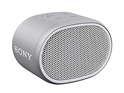 Sony SRS-XB01 Compact Portable Water Resistant Wireless Bluetooth Speaker with Extra Bass - White by Sony