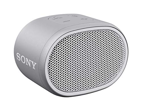 SRS-XB01 - Speaker wireless portatile con EXTRA BASS, Resistente all'acqua, Bluetooth, Bianco