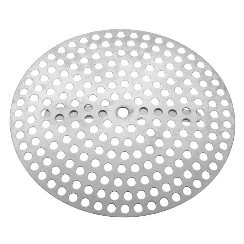 Danco 88923 Clip Style Shower Drain Cover, For Use With 3-3/8 in Shower Drains, Aluminum Steel, Chrome Plated