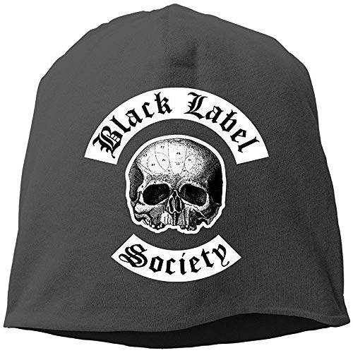 BallainB M Black Label Society Unisex Skull cap Warm Hat One Size Black