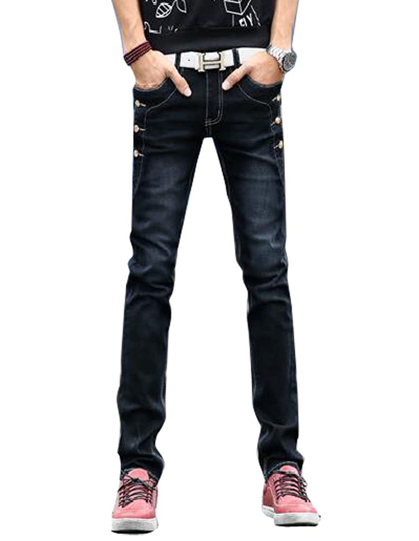 (ゆうや)YoYeah メンズ ジーンズ スキニー ジーパン ズボン 大きいサイズ ストレッチ デニムパンツ ストレートジーパン ロングパンツ 人気ブランド パンツ ジーパン ジーンズ デニム 美脚 細身