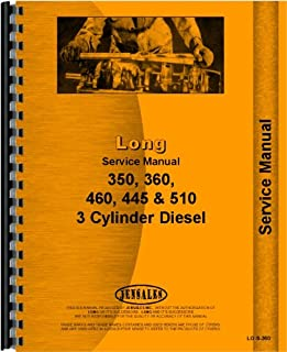 Long 445 Tractor Service Manual (1972-1976)