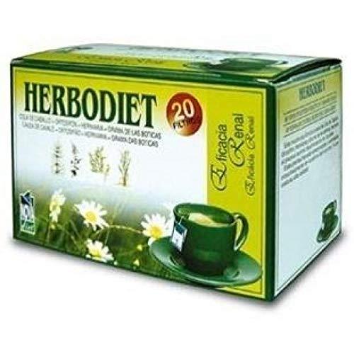 Novadiet Infusion Herbodiet Eficacia Renal - 1 Paquete De 20 Filtros