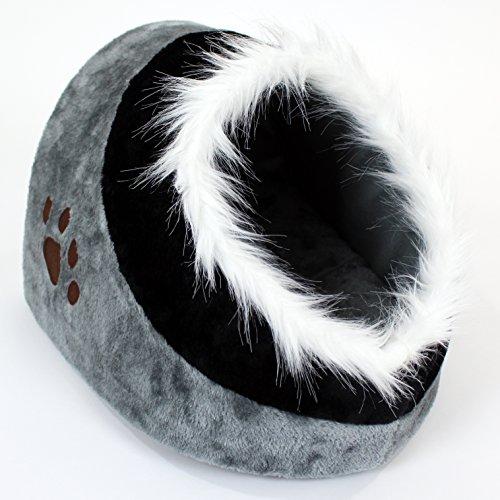 Easipet Cat Bed Igloo/House/Cave Sleeping Snug (Large)