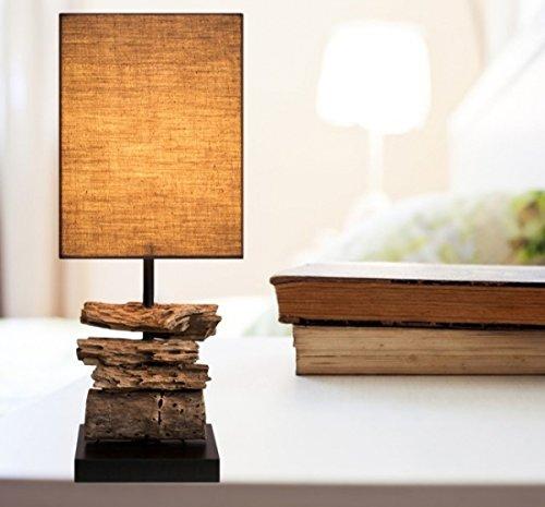 *Treibholz Lampe Nachttisch Designlampe*