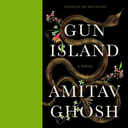 Gun Island audiobook cover art