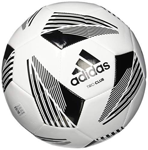 adidas unisex-adult Tiro Club Ball White/Black 5