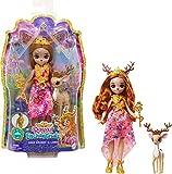 Enchantimals Royals mini-poupée Reine Daviana, figurine animale Biche Grassy et accessoires, jouet pour enfant, GYJ12