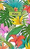 Notes: Cahier avec motifs floraux, hibiscus, feuilles, végétation. Carnet de notes, carnet de gratitude, journal de rêves, journal intime, carnet ... Idéal cadeau de noël, cadeau d'anniversaire