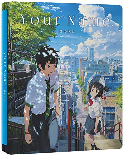 Your Name. (Ltd Steelbook) (Blu-Ray+Dvd) [Italia] [Blu-ray]
