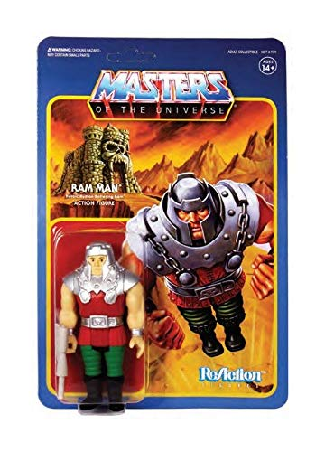 SUPER7 Masters of The Universe Reaction Action Figure Wave 4 Ram Man 10 cm