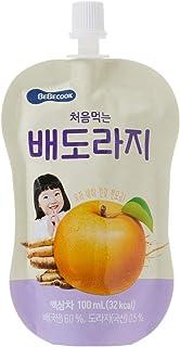 BeBecook Brewed Korean Golden Pear Drink w Bellflower Root, 100ml