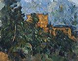 The Poster Corp Cezanne: Le Ch�teau Noir. /Noil On Canvas