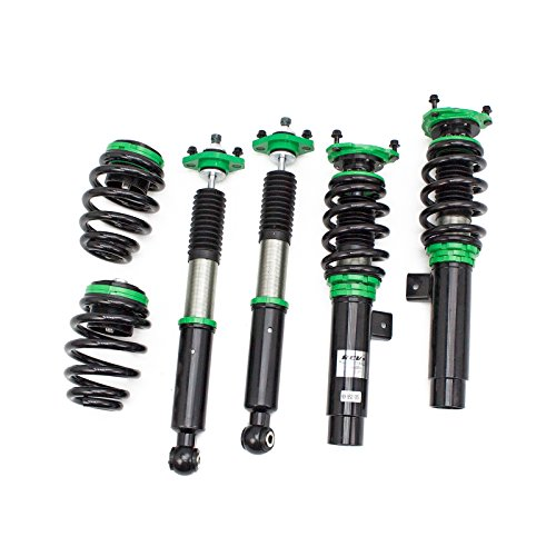 Rev9 R9-HS2-025 Hyper-Street II Coilover Suspension Lowering Kit, Mono-Tube Shock w/ 32 Click Rebound Setting, Full Length Adjustable