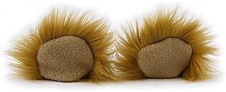 Clip In Furry Teddy Bear Ears Hair Clips On