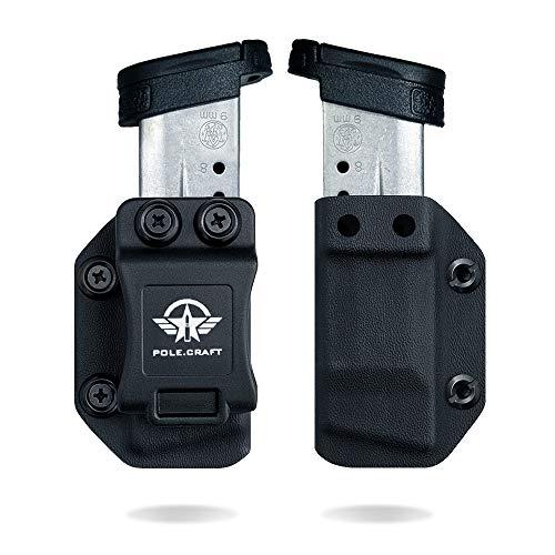 S&W M&P Shield 9mm/.40 Single Stack Magazine Holster IWB/OWB Kydex -...