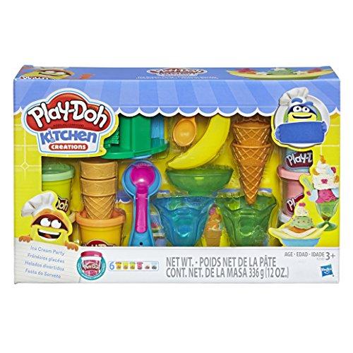Conjunto Massinha Play-Doh Festa do Sorvete Hasbro