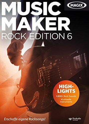 MAGIX Music Maker Rock Edition 6
