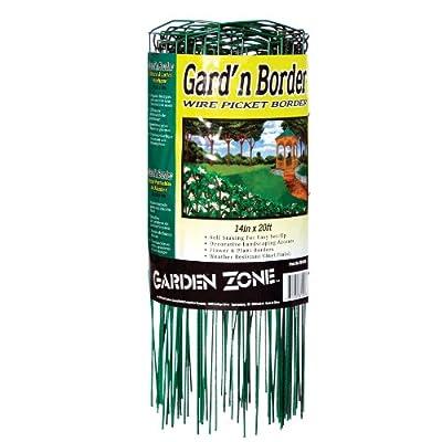 Origin Point 20-Foot x 14-Inch Gard'n Border Wire Picket Fence