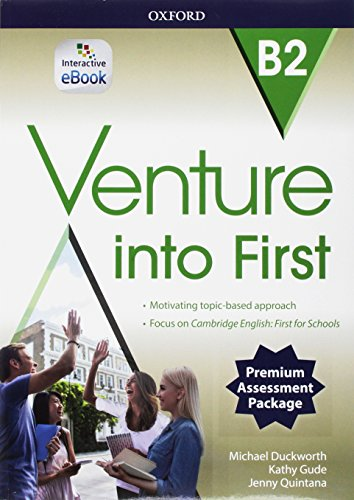 Venture into first B2. Super premium. Student's Book & wb with obk with 2 first online tests [Lingua inglese]