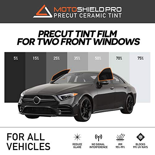 DNF 1 PLY Black 35/% 40 X 100 Feet Window Tint Film with Free Tri-Edge Squeegee
