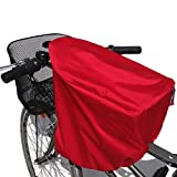 TROCKOLINO Protection imperméable pour siège vélo WeeRide Rouge