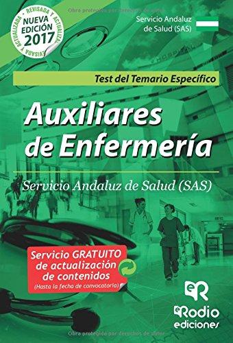 Auxiliares de Enfermeria del SAS. Test del Temario Especifico
