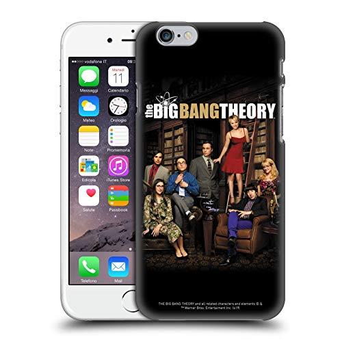 Head Case Designs Licenza Ufficiale The Big Bang Theory Stagione 9 Arte Chiave Cover Dura per Parte Posteriore Compatibile con Apple iPhone 6 / iPhone 6s