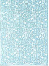 Craig Bachman 72-inch Rectangle Polyester Table Runner Boy Baby Shower, Restaurant Banquet Blue White