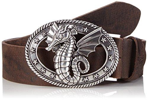 MGM sea horse ceinture, Brun (braun geflammt 2), 100 cm Mixte Adulte