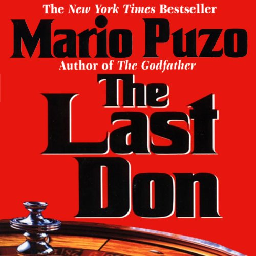 The Last Don audiobook cover art