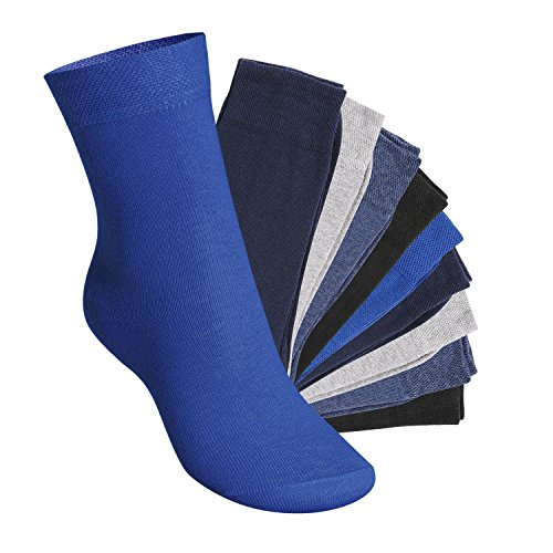 10 Paar EVERYDAY! KIDS Kinder Socken für Mädchen & Jungen Jeanstöne-27-30