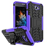 J7 Prime Case, Tyre Pattern Design Heavy Duty Tough Armor