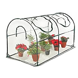 Seven Colors house Reinforced Portable Mini Greenhouse Review.