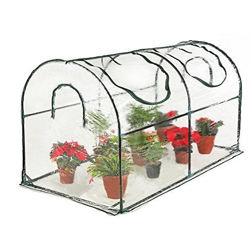 Seven colors house Reinforced Portable Mini Greenhouse 35.4 x 70.8 x 39 inches Vegetable Plant Mini...