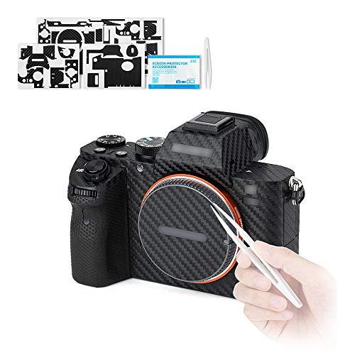 Anti-Kratz Schutz Aufkleber für Sony Alpha 7 II 7R II 7S II / Sony A7 II A7R II A7S II Kamera Anti-Rutsch Carbonfaser-Muster-Sticker