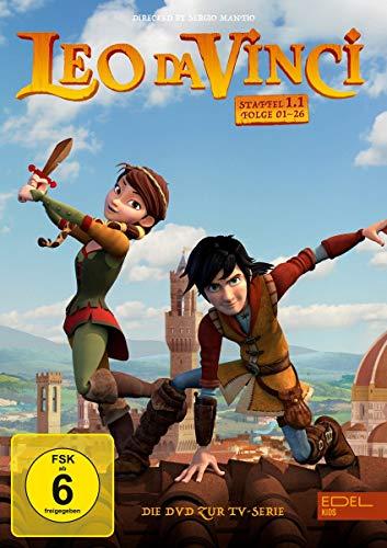 Leo da Vinci - DVD-Staffelbox 1.1 (1 - 26) - Die DVD zur TV-Serie [2 DVDs]