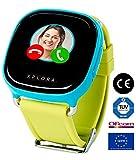 XPLORA 1 - Smartwatch para niños (No Incluye SIM), Localización GPS Llamadas telefónicas, Envío y recepción de Mensajes de Texto, Mensajes de Voz Emojis Modo Escolar Calendario SOS (Azul)