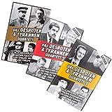 GOODS+GADGETS Tyrannen & Despoten Quartett - Das Diktatoren Kartenspiel die 32 übelsten Führer der Geschichte auf Spielkarten (Komplettset (Alle 3 Varianten))
