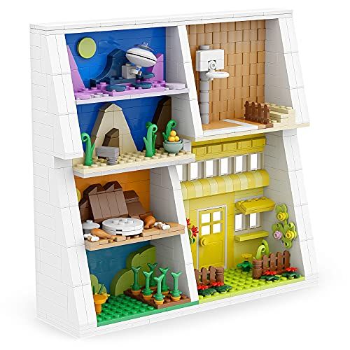 Display Stand Building Sets for Lego Looney Tunes 66667 Blind Bag Mini Figures Toys,Bunny Cartoon Toys Display Stand for Bedroom Decor,Awesome Collectible Gift (667pcs)