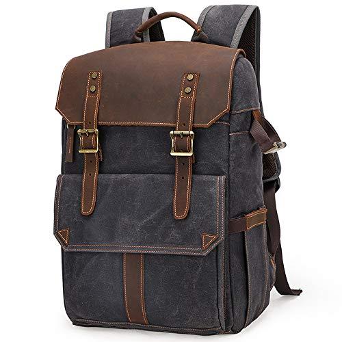 HOSD Camera Bag Camera SLR Shoulder Photography Backpack Waterproof Large Capacity Backpack Outdoor Bag