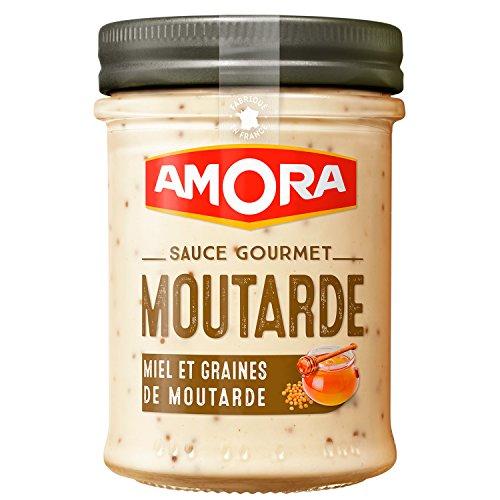 Amora Salsa De Semillas De Miel/Mostaza 190 Gpack 6