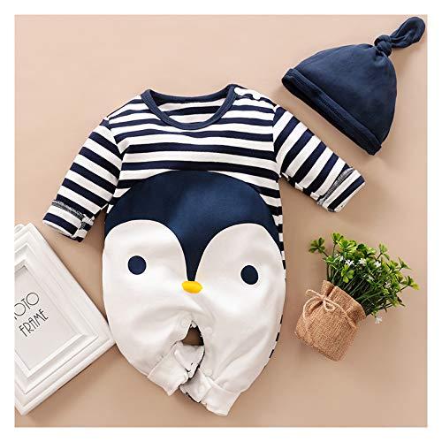 Hooded Baby Romper dikke warme jas capuchon ski jas Cartoon Coveralls broek herfst en winter kleding 0-12 maanden