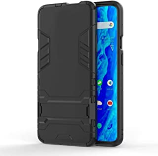 TenDll Case for Honor X10 Max 5G,TPU&PC Hybrid Armor Case Removable 2 in 1 Rugged Double Case,Built-in Kickstand, Cover fo...