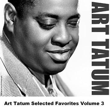 Art Tatum Selected Favorites Volume 3