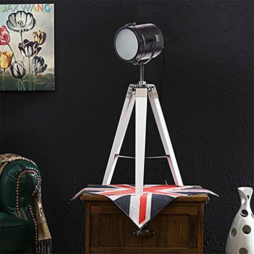 5151BuyWorld lamp Nordic Retro industrieel massief hout topkwaliteit statief tafellamp fotografie tafellampen voor woonkamer slaapkamer lezen verlichting voor thuis