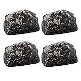 Hide-a-Key Fake Rock - Looks & Feels Like Real Rock, Set of 4